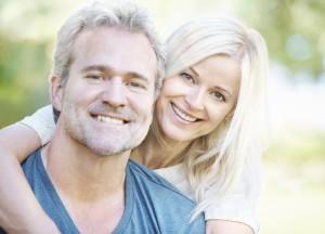 Men, see your Reynoldsburg dentist for regular oral health care.